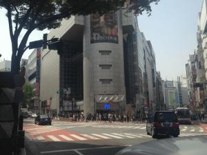 キレイモ渋谷道玄坂店に行くには109のところを左に進みます