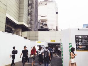 キレイモ渋谷宮益坂店へ向かうには渋谷駅の宮益坂口から出ます